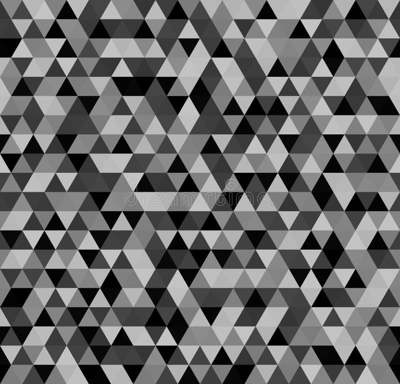 Configuration de triangle Fond sans joint de vecteur illustration de vecteur