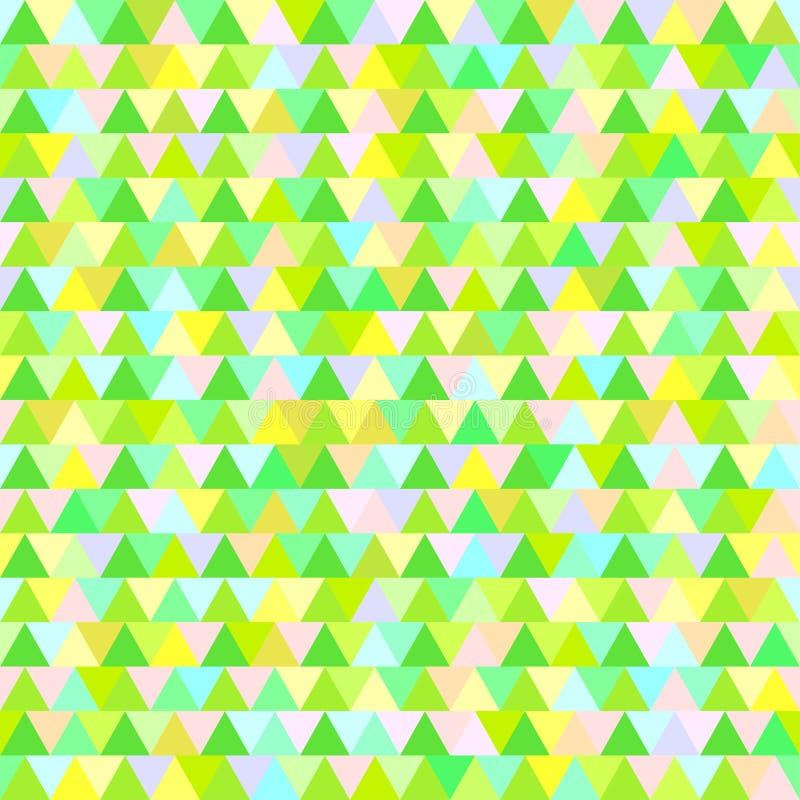 Configuration de triangle seamless illustration de vecteur