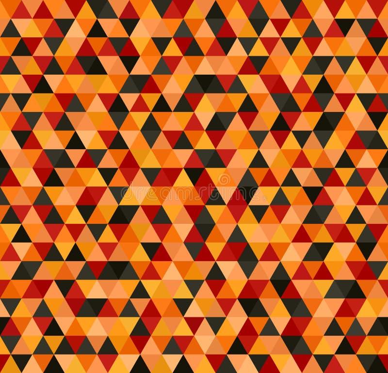 Configuration de triangle Vecteur sans joint illustration stock