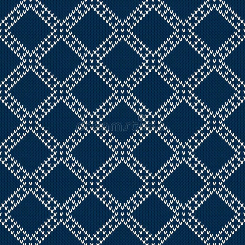 Configuration de tricotage sans joint illustration stock
