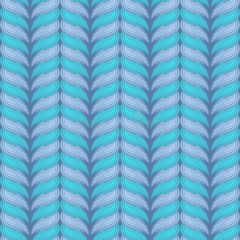Configuration de tricotage sans joint de vecteur. illustration libre de droits