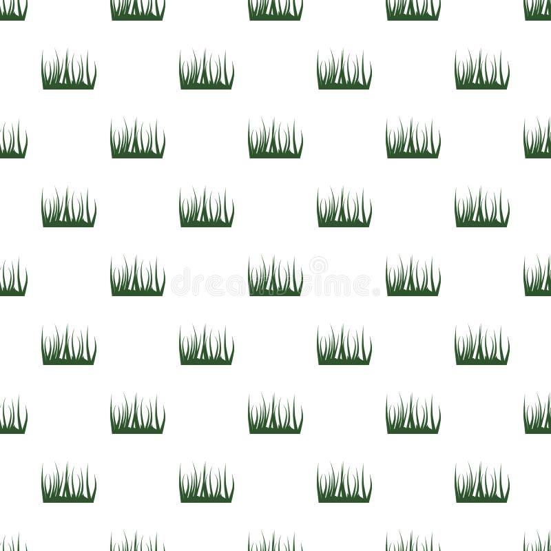 configuration de vert d'herbe illustration de vecteur