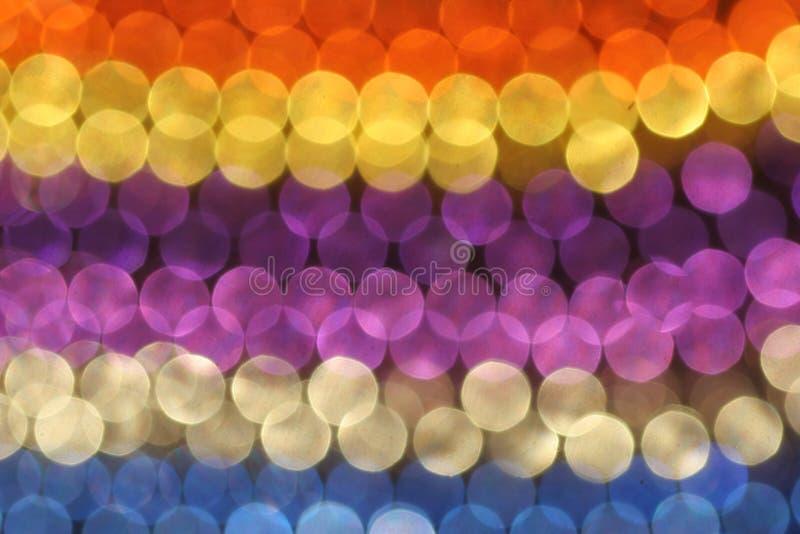 Configuration des cercles colorés photo libre de droits