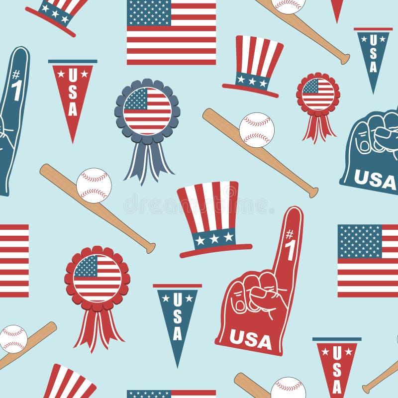 Configuration des Etats-Unis illustration stock