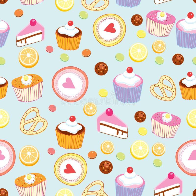 Configuration Des Gâteaux Et Des Pâtisseries Photos libres de droits