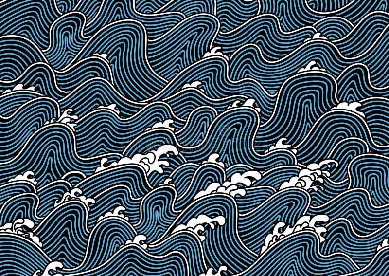 Configuration du Japon illustration libre de droits