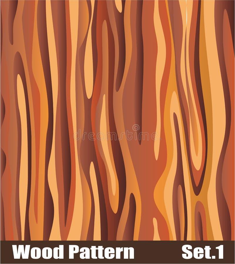 Configuration en bois illustration stock