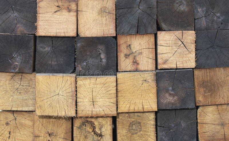 Configuration en bois photo stock