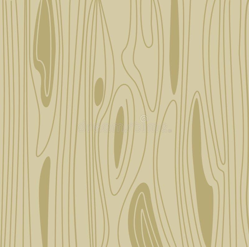 Configuration en bois légère de fond illustration libre de droits