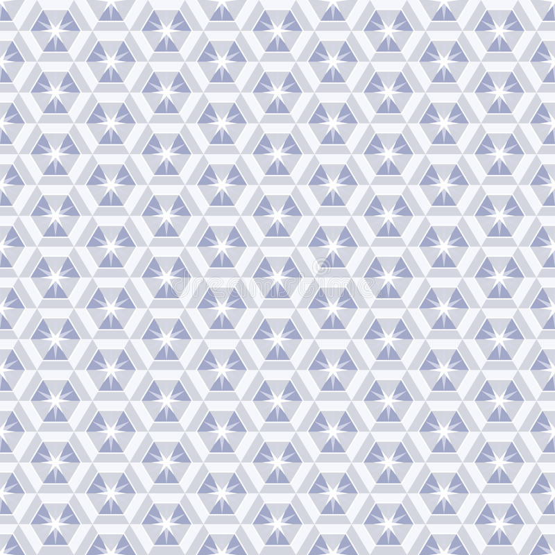 Configuration en cristal illustration stock