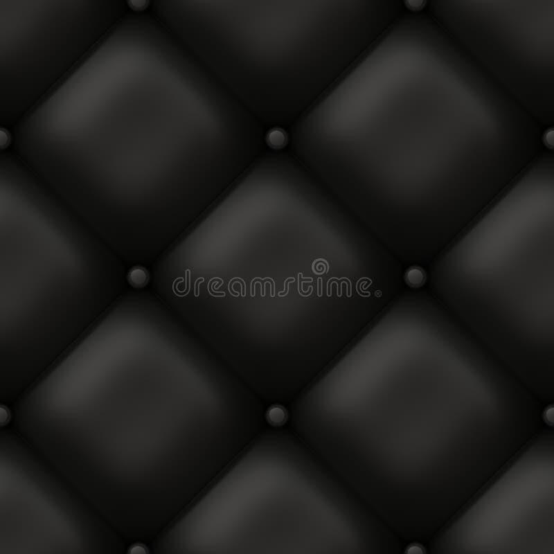 Configuration en cuir de salon illustration de vecteur