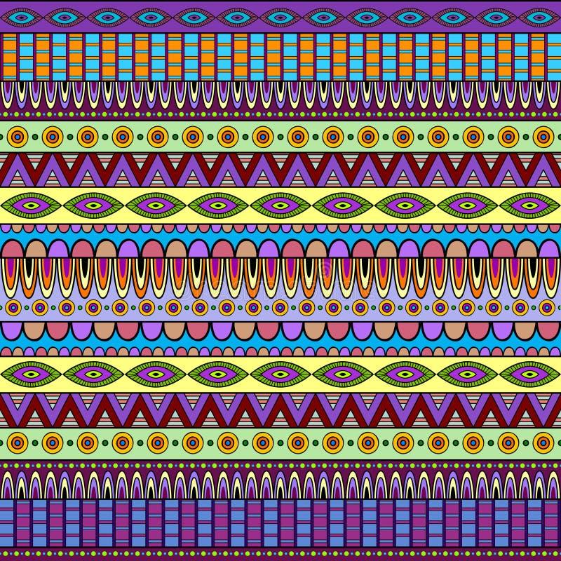 Configuration ethnique illustration de vecteur