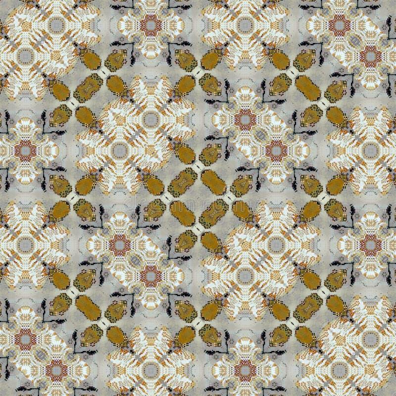 Configuration ethnique Fond géométrique tribal Tissu élégant image stock