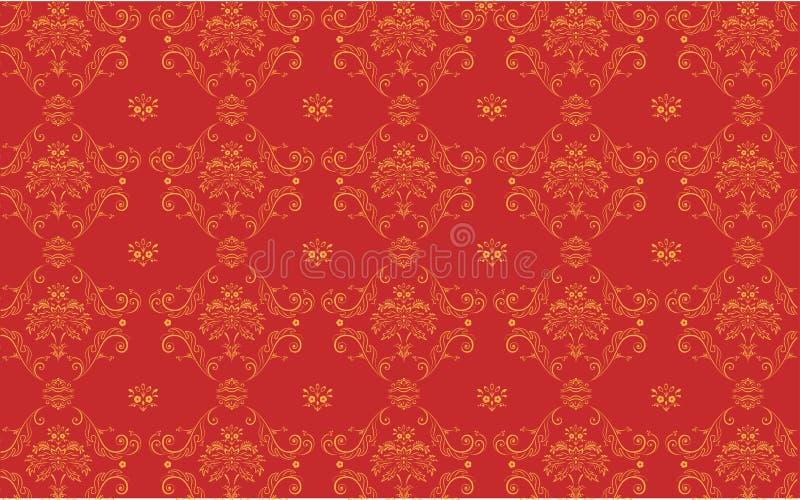 Configuration florale illustration stock