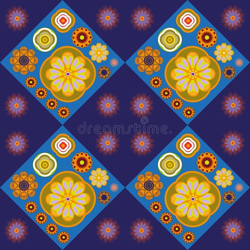 Configuration florale abstraite illustration stock