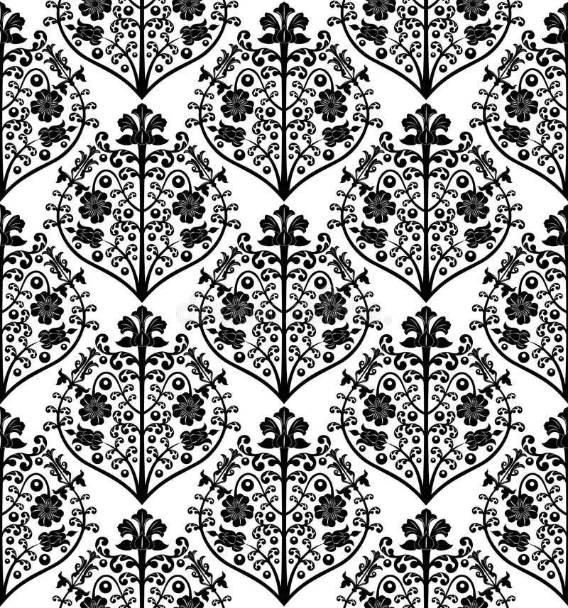 Configuration florale sans joint. illustration de vecteur