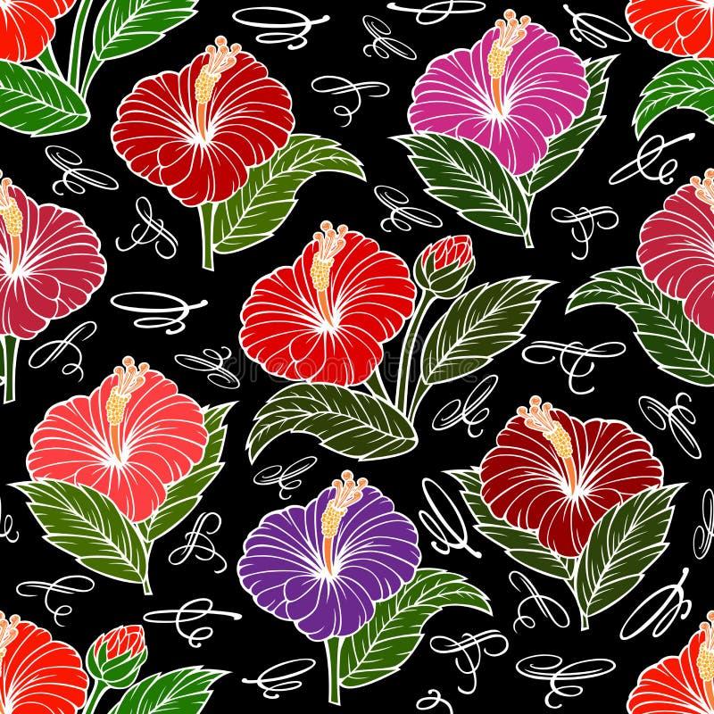 Download Configuration Florale Sans Joint Illustration de Vecteur - Illustration du bourgeon, décoratif: 76086006