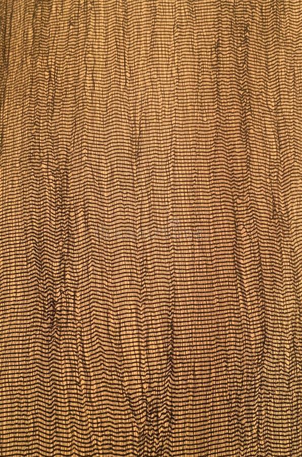 Configuration florale sans joint de damassé Papier peint royal L'exposé introductif d'or, texture est couleur d'or massif affligé photos stock