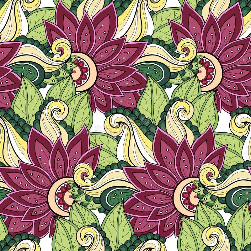 Download Configuration Florale Sans Joint De Vecteur Illustration de Vecteur - Illustration du encre, livre: 56479283