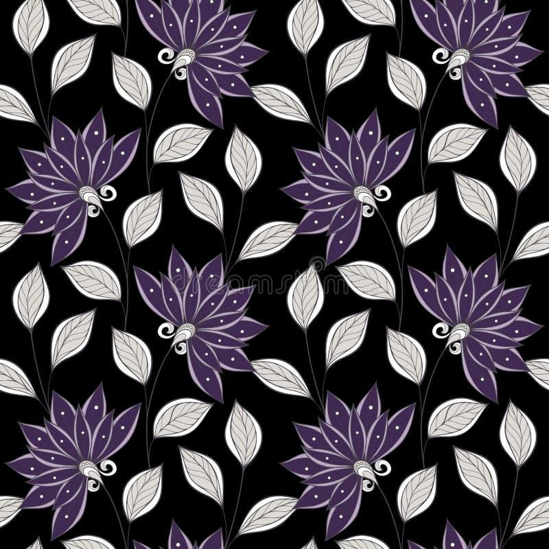 Download Configuration Florale Sans Joint De Vecteur Illustration de Vecteur - Illustration du coloration, dessiné: 56479811