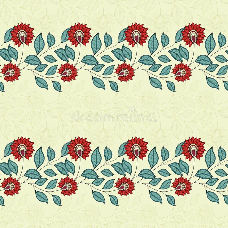 Download Configuration Florale Sans Joint De Vecteur Illustration de Vecteur - Illustration du bourgeonnez, batik: 56482480