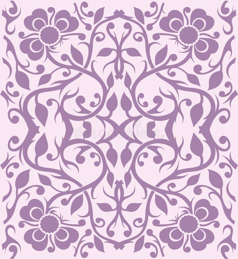 Configuration florale - vecteur illustration stock