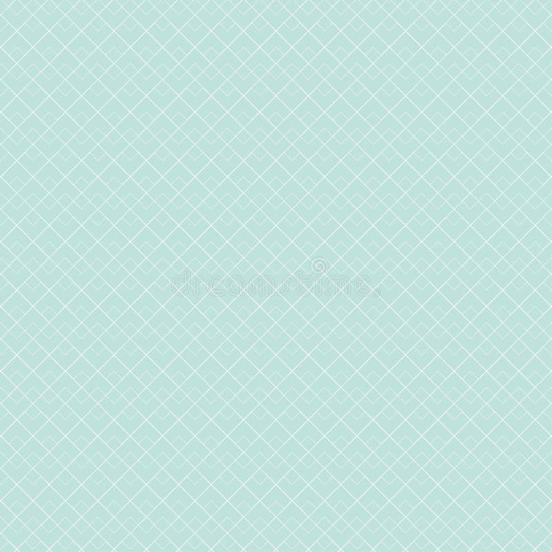 Configuration géométrique bleue Répétition géométrique illustration de vecteur
