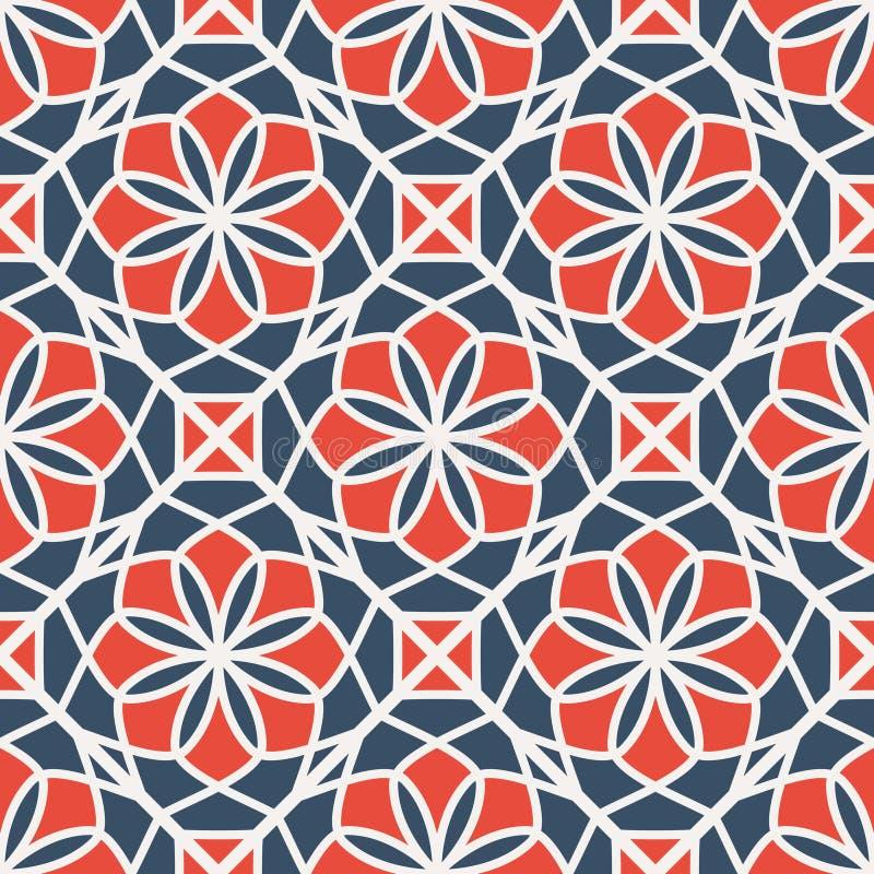 Configuration géométrique de vecteur illustration de vecteur