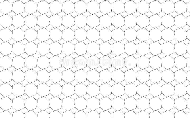Configuration géométrique monochrome illustration stock
