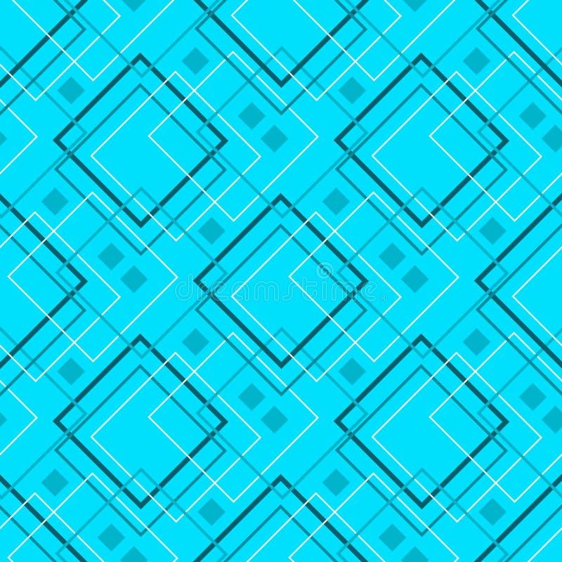 Configuration géométrique sans joint illustration de vecteur