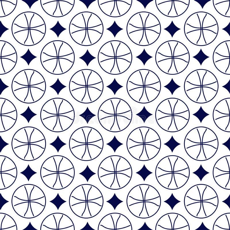 Configuration géométrique sans joint photos stock