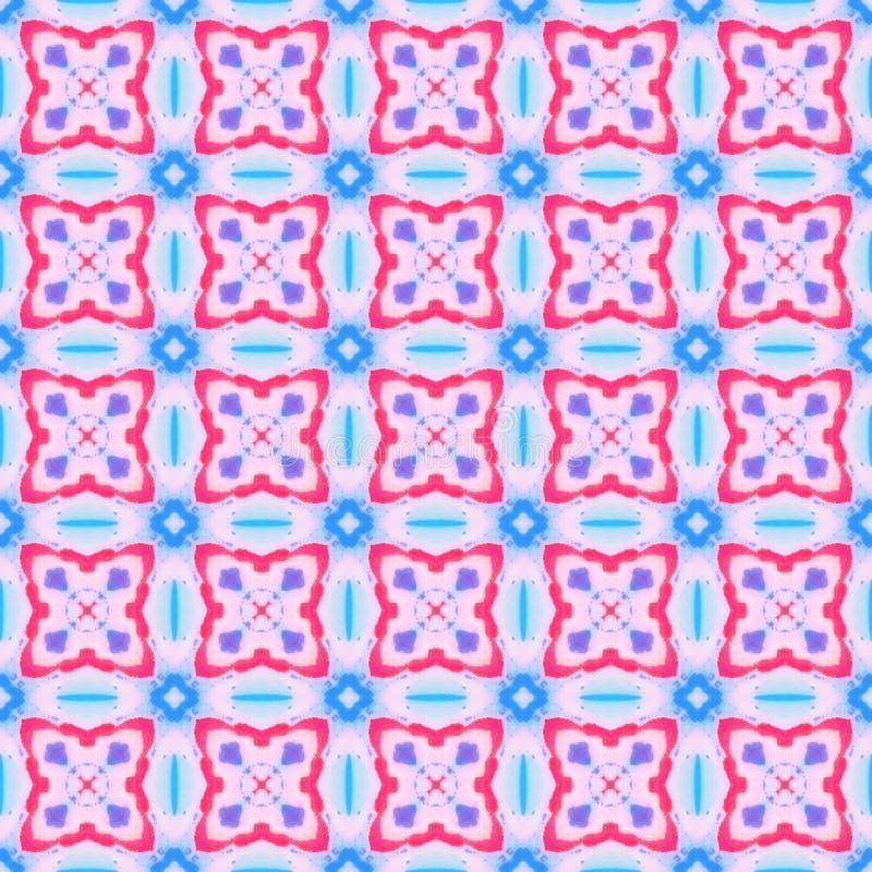 Configuration géométrique sans joint abstraite Texture de fond de vintage illustration de vecteur