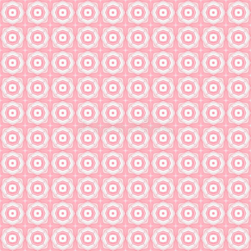 Configuration géométrique sans joint abstraite Texture de fond de vintage illustration libre de droits