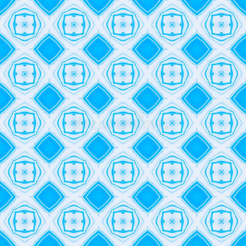 Configuration géométrique sans joint abstraite Texture de fond de vintage illustration stock