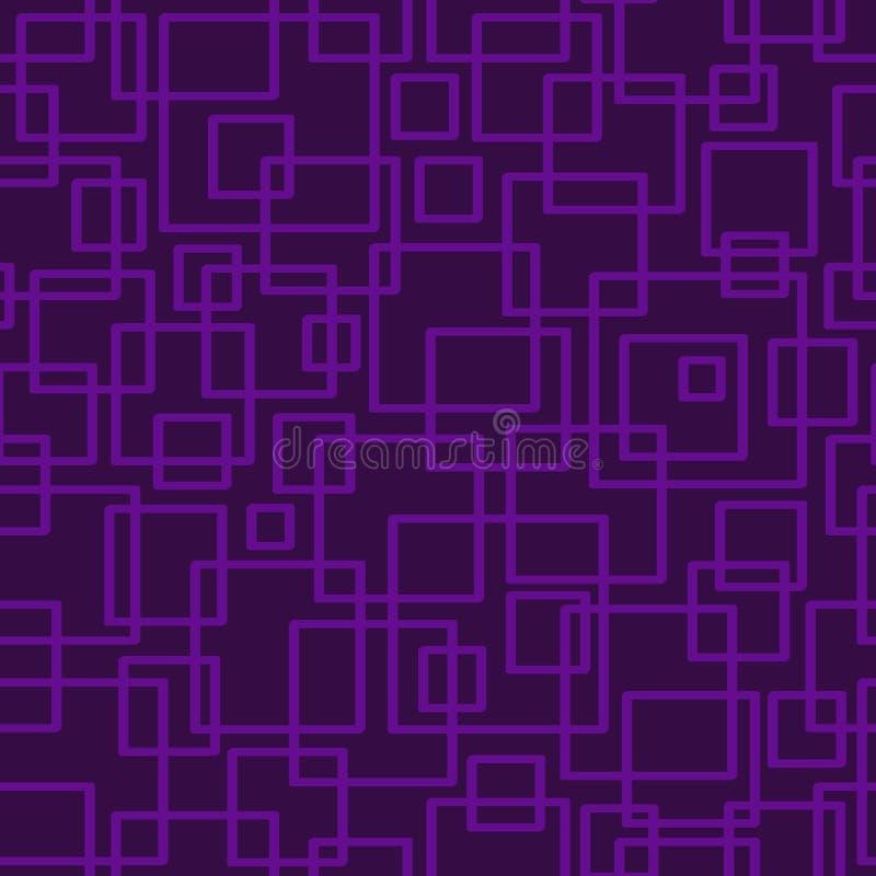 Configuration géométrique sans joint Copie simple géométrique Vecteur répétant la texture illustration libre de droits