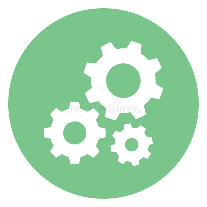 Configuration, gear Isolated Vector Icon Which can easily modify or edit stock illustration