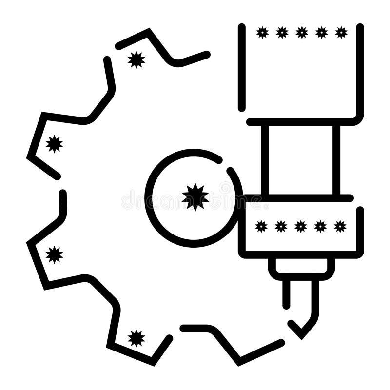 Configuration icon vector. Illustration photo royalty free illustration
