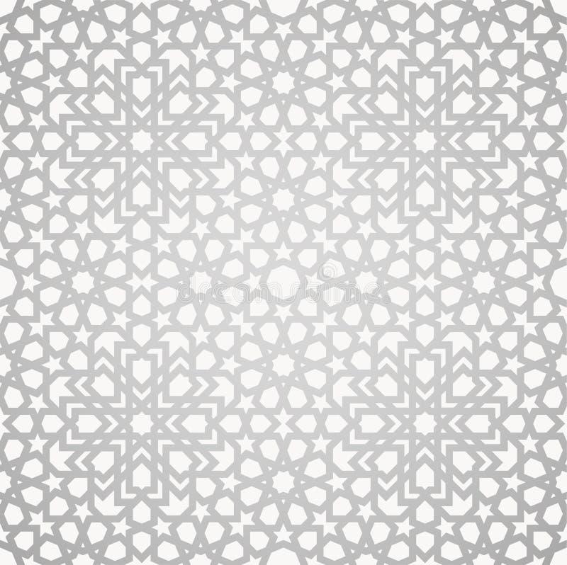 Configuration islamique illustration stock