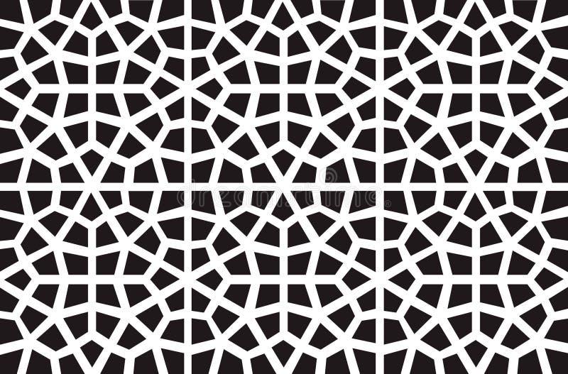 Configuration islamique de vecteur illustration libre de droits