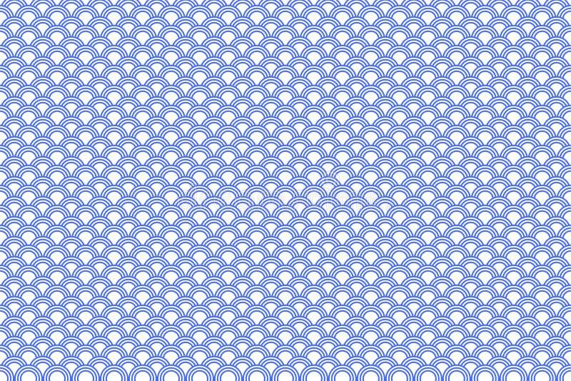 Configuration japonaise illustration libre de droits