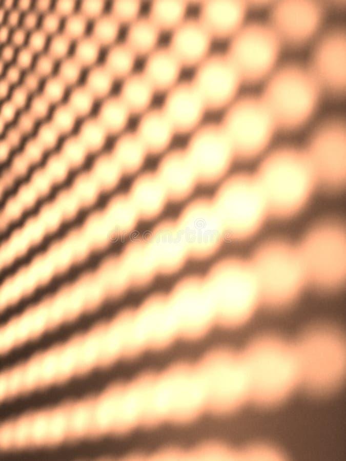 Configuration légère pointillée par abstrait images libres de droits
