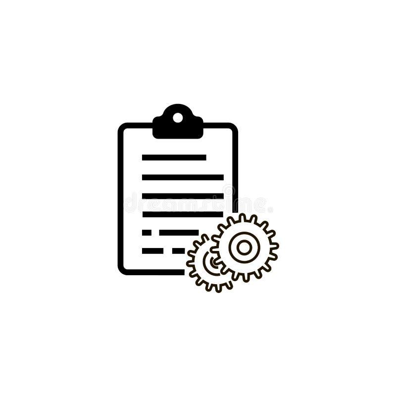 Configuration list vector icon vector illustration