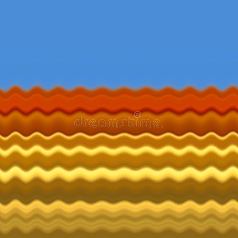 Configuration lumineuse illustration de vecteur
