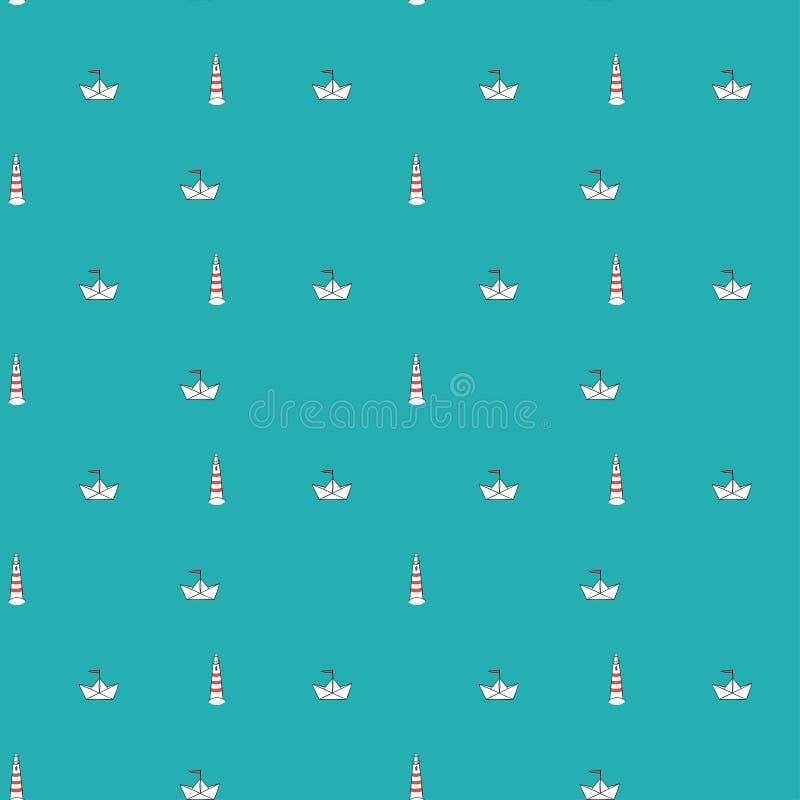 Configuration marine sans joint illustration de vecteur