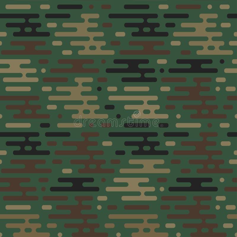 Configuration militaire sans joint illustration libre de droits