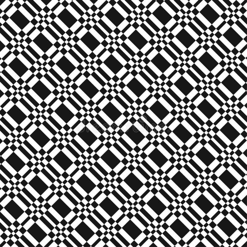 Configuration noire et blanche illustration stock
