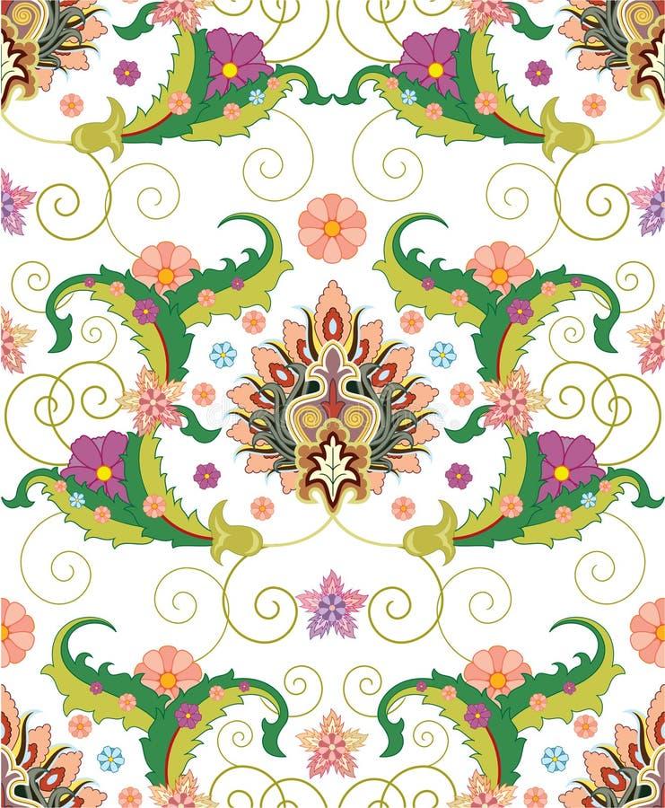 Configuration persane illustration stock
