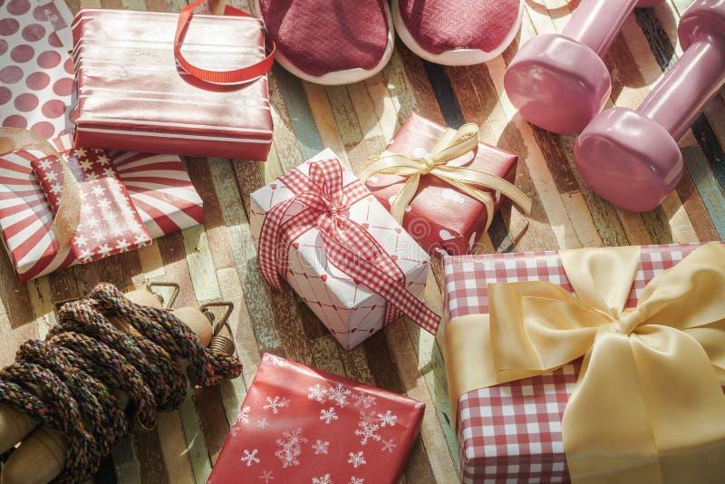 Configuration plate de Joyeux Noël et bonne année et toutes RP holidy photo stock