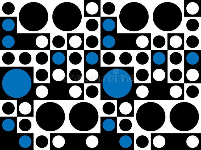 Configuration psychédélique sans joint d'années '60 illustration libre de droits