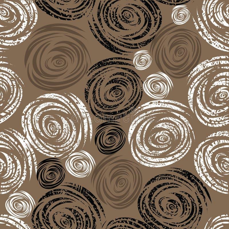 Configuration rose de grunge beige sans joint illustration libre de droits